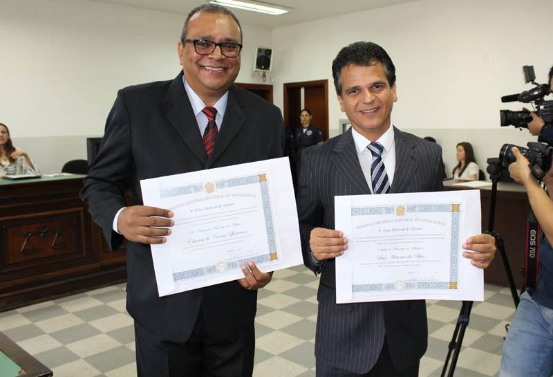 Justiça Eleitoral realiza diplomação dos eleitos em Alfenas e Serrania
