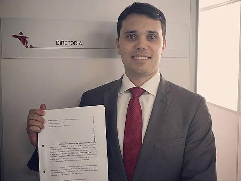 Candidato único, Adriano Aro é eleito presidente da Federação Mineira de Futebol.
