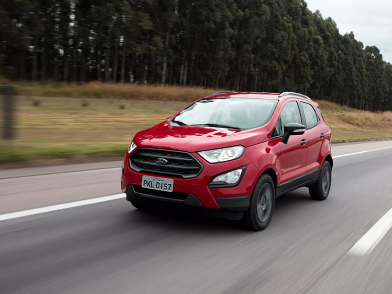 Ford EcoSport perde airbags na linha 2019