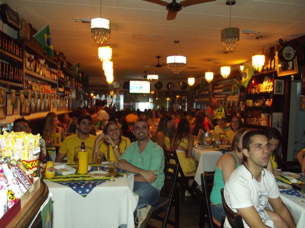 Restaurante do Ali - Brasil x Colômbia